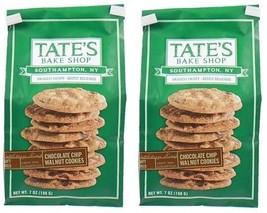 Tate's Bake Shop Chocolate Chip Walnut Cookies 2 Bag Pack - $19.75