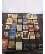 8-Track Lot 30 Easy Listening  Lightfoot Garfunkel Carpenters Manilow Fo... - $24.84