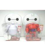 2 Big Hero 6 (1) White & (1) Red Baymax Disney Action Figure Toy Kids Gi... - $36.62