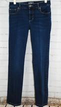 Chico's So Slimming Slim Leg Dark Jeans Chico's 00 Women's 2 x 30 Cotton... - $29.69