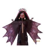 Monster High Repaint  'Drakala', Voodoo Queen, Full Body Repaint, Bat Wi... - $65.00