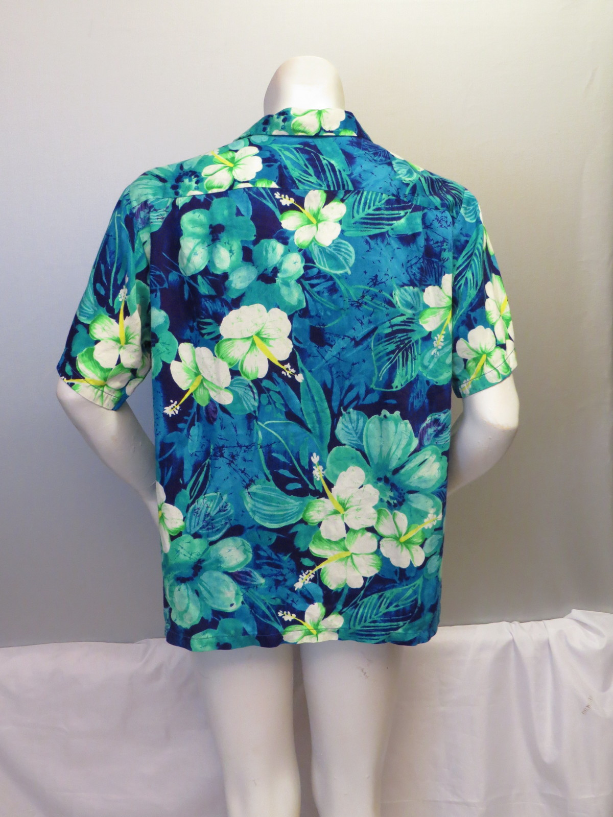 Vintage Hawaiian Aloha Shirt - TC Hawaii Vibrant Floral Pattern - Men's XL Mnr6FJ