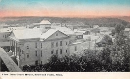 View from Court House Redwood Falls Minnesota 1910 postcard - $6.93