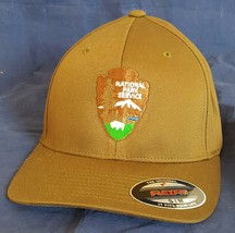 DOI Department of the Interior NPS National Park Service Embroidered Fle... - $37.49