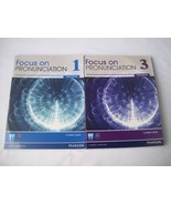 Focus on Pronunciation Third Edition 1 and 3 Linda Lane - $49.95