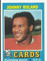 Johnny Roland 1971 Topps #123 St.Louis - $2.02
