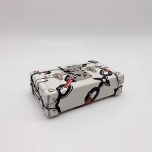 100% AUTH LOUISE VUITTON PETITE MALLE EPI WHITE CHAIN BAG LEATHER image 5
