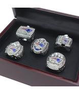 2017 new  5 set  championship ring super bowl  li patriots 2001   17 fan size 11 2 thumbtall