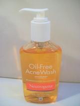 New Neutrogena OIL-FREE Acne Wash Pump 6 Oz. Microclear - $10.24