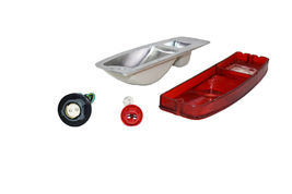 64-72 FORD Truck F100 F-100 Tail Light Lens Set With Housing F150 F-150 F-Series image 8