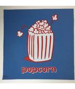 Cranium Hullabaloo Children Game Blue Popcorn Square Foot Mat Floor Pad ... - $5.34