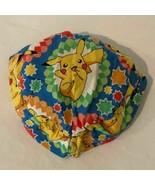 Pokemon Infant Baby Bucket Hat Summer Sun Pikachu Print Handmade - $8.99