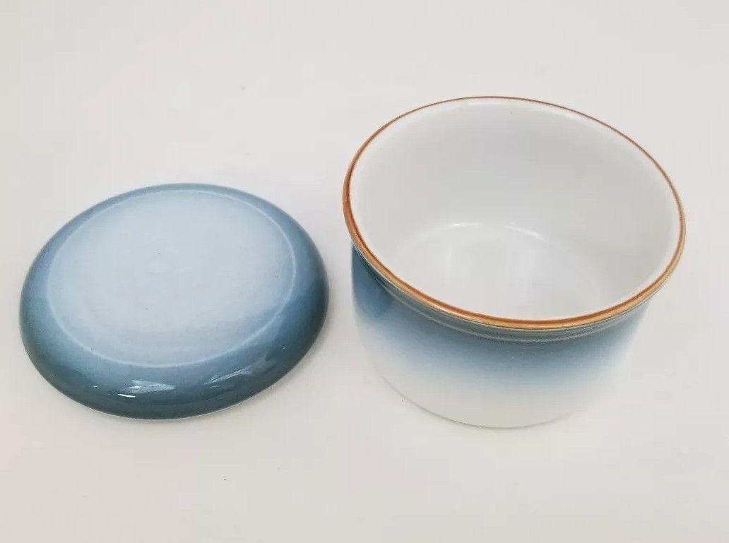 Nikko Gradiance Creamer and Sugar Bowl Azure Leafette Dishwasher Microwave Safe image 7