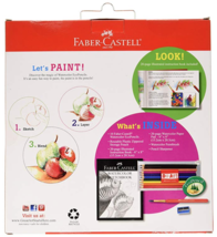 Faber-Castell 15 Piece Watercolor Pencil Paper Art Set for Beginners Ages 9+ NEW image 2