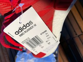 Adidas NMD Runner Red Size 10 New image 7