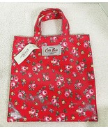 NWT Cath Kids London Red Floral Purse 7 3/4 x 7 5/8 Cath Kidston T28 - $28.22