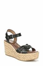 Sam Edelman Darline Women Platform Wedge Sandals Espadrille Leather - $18.50