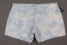 """NWT- OLD NAVY The Diva Cutoff """"Cool Tie Dye"""" Light Blue Jean shorts Size 10 - $12.38"""
