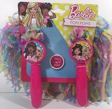+Barbie Girls Pom Poms Cheerleader Cheer Accessory Pink U2 - £5.52 GBP