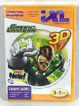 Green Lantern Fisher Price iXL Learning System Game Software Interactive P1-25 - $12.26