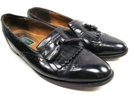 Cole Haan Tassel Kilt Mens Loafer Shoes Black Leather Size 12 B - $19.39