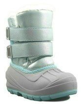 Cat & Jack Toddler Girls Blue Lev Faux Fur Thermolite Insulted Winter Snow Boots image 1