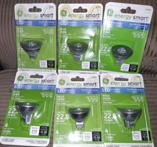 Lot of 6 GE Lighting 62915 Energy Smart LED 4 Watt 25,000 hours MR16 3000K - $36.62
