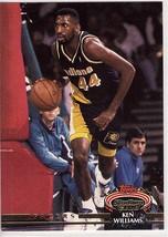 1992-1993 Topps Stadium Club #296 Kenny Williams Indiana Basketball Card  - $0.99