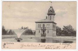 St Hanshaugen Kristiania Oslo Norway 1905? postcard - $7.43