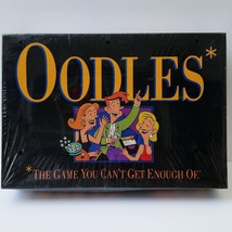 1992 OODLES Electronic Card Board Game Milton Bradley Hasbro 3+ Adult NOS - $54.44