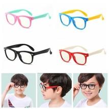 Kids Blue Light Blocking Computer Glasses Toddler Boys Girls Children Ey... - $10.99