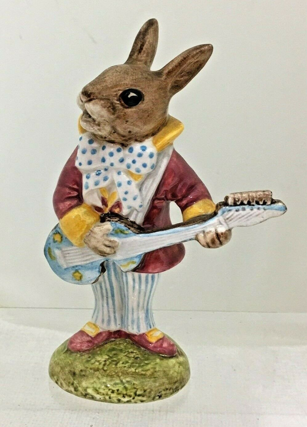 Primary image for Royal Doulton Bunnykins Figurine Mr Bunnybeat Strumming Guitar  No Box T53