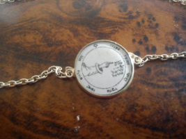 Powerful Fifth Pentacle of Moon Bracelet. Protect against all perils and... - $19.99