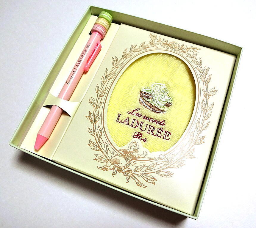 Laduree Ball-point pen Towel Handkerchief and similar items