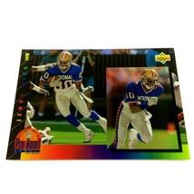 Jerry Rice 1993 Upper Deck Pro Bowl Insert Card #PB9 NFL San Francisco 4... - $4.90