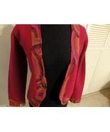 Women M L XL 10 12 Cardigan Jacket Blazer Coat Knit Button Career Wool W... - $21.79