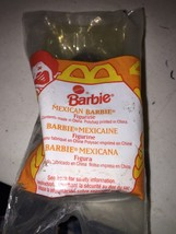 MCDONALD'S HAPPY MEAL MEXICAN BARBIE 1995 # 4 new old stock vintage  2L - $4.08