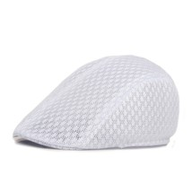 Unisex 2018 Men Summer Berets Hat Lace Hollow Out Caps Retro Sunhat Mesh... - $9.26