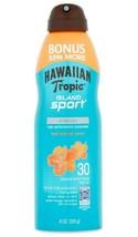 Hawaiian Tropic Island Sport High Performance tropic Sun Screen Spray SPF 30 8Oz image 1