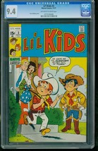 LI'L KIDS #3 1971-STAN GOLDBERG-OFF-WHITE TO WHITE-CGC GRADED 9.4 077519... - $151.56