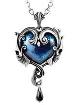 Midnight Love Pendant - Alchemy Gothic Necklace - $66.95