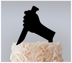 Wedding,Birthday Cake topper,Cupcake topper,silhouette friday the 13th : 11 pcs - $20.00