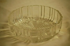Anchor Hocking Old Cafe Clear Depression Glass Candy Dish BOTTOM Replace... - $19.79