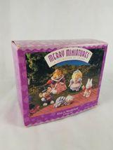 Hallmark Merry Miniatures Alice in Wonderland 5 Piece Set Lot image 5