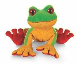 Green Tree Frog Webkinz Lil'Kinz HS109 Beanbag Plush Stuffed Animal No C... - $4.94