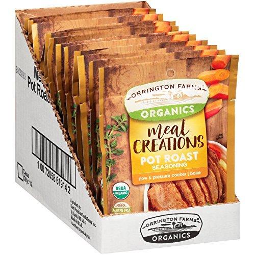 Orrington Farms Organic Meal Creations Seasoning, Pot Roast 12 Count