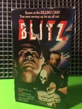 BLITZ-VHS Falcon Home Video RARE HTF Action Pun... - $9.49