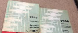 1988 Chevy Chevrolet Camaro Servizio Negozio Riparazione Manuale Set Fab... - $98.98