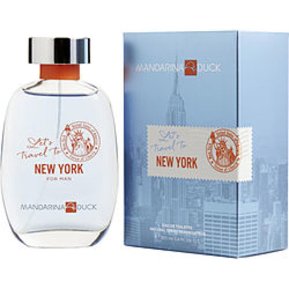 Mandarina duck lets travel to new york by mandarina duck type fragrances men - Mandarina home online ...