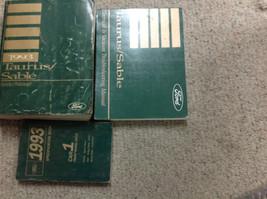 1993 Ford Tauro Servicio Tienda Reparación Manual Juego OEM Fábrica 3 Vol - $59.42
